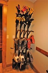 The boot dryer will ensure your boots and gloves are toasty warm for the next day of skiing.