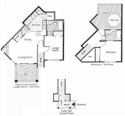 Layout of condo