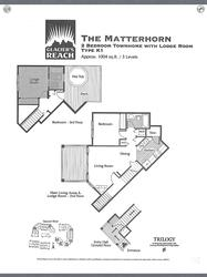 Great floorplan allowing for ample space with the privacy of each bedroom on its own level.