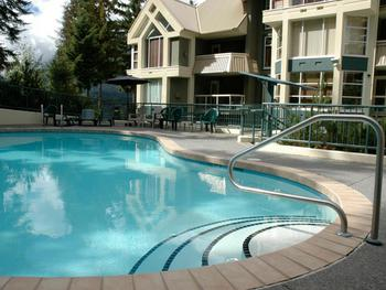 Go for a swim in Woodrun Lodge's slopeside pool or soak in hot tub. Open year around.
