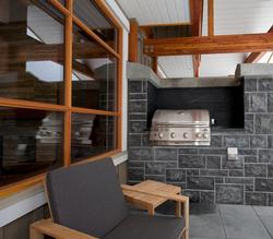 BBQ located off the living area