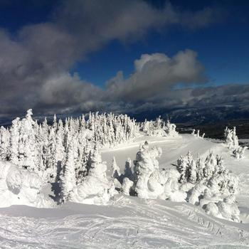 A beautiful day at Sun Peaks