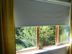 black-out blinds in all bedrooms