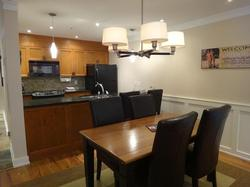 Fab kitchen and dining area
