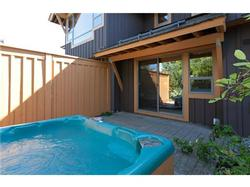 Private Hot Tub and patio