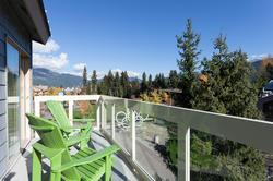 2 of 2 private balconies - overlooking the village and Olympic Plaza.