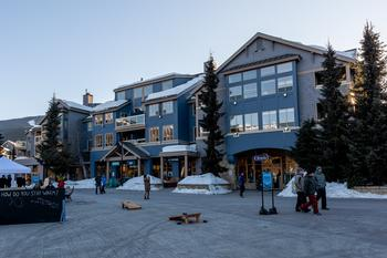 Tyndall Stone Lodge - we are located on the top floor with spectacular views Whistler  and Blackcomb Mountains!