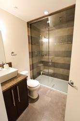 Main bathroom on second floor located adjacent to bunk room and includes steam shower.