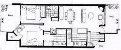 Floorplan of our unit (all on one level - no stairs)