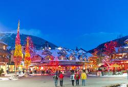 Holiday season at Whistler