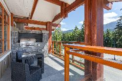 Large gas DCS private barbeque - one of 2 balconies off the kitchen area