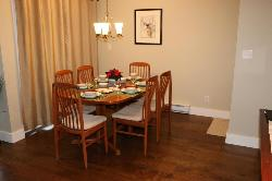 Our Teak Dining Room