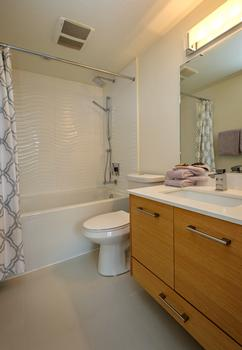 The ensuite bathroom off the master bedroom.