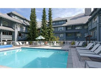 Heated Salt Water Pool. One of the best year-round pools in Whistler!