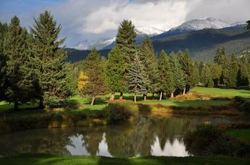 Whistler golf course nearby