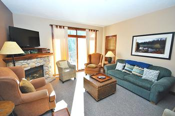 Sun Peaks 2 Bedroom Accommodation - Trapper's Landing - #3519