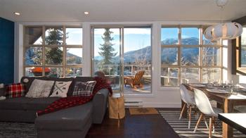 Large windows with plenty of natural light and endless views