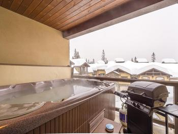 Unit 22 - hot tub on your private deck with a BBQ