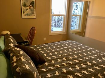 2nd Bedroom with Queen Bed & Desk/Chair