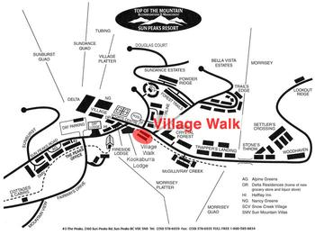 Village Walk Map