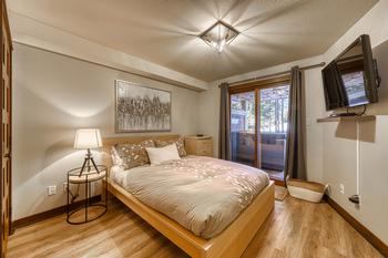 Master Bedroom with ensuite bathroom and in-suite laundry