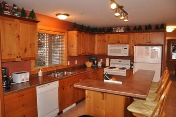 Spacious kitchen has every amenity