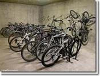 Bike room in the underground to store your bikes