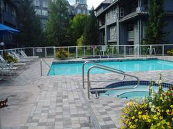 Heated Pool and two hot tubs Summer time.