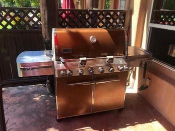 private natural gas BBQ