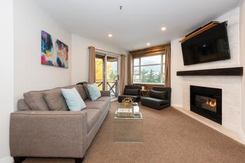 Whistler 1 Bedroom Accommodation - Marketplace Lodge - #3747