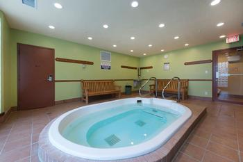 Relax in the hot tub after a long day on the slopes or trails!