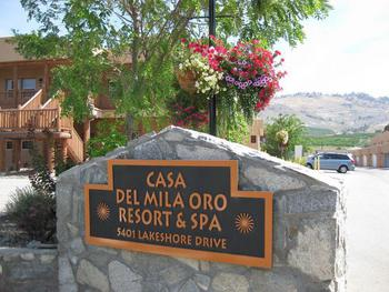 Osoyoos 2 Bedroom Accommodation - Casa Del Mila Oro Resort - #3784