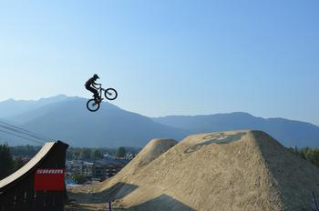 Experience Whistler's world famous bike park, located in front of the Carleton Lodge.