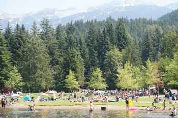 Whistler is also the perfect summertime resort!