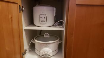 Rice cooker and slow cooker/crock pot