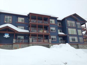 Glacier Lodge - condo is on the middle floor