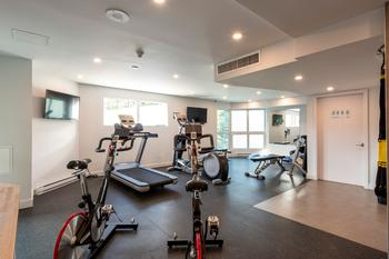 Communal Building Fitness Room