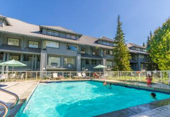 Heated Pool- Open ALL year. Steps from the patio of the unit