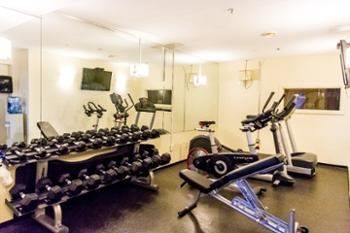 For those of you that like to keep active during your stay... we are located a few doors down from the gym!