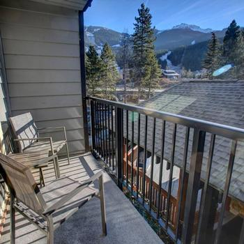 There was a fantastic view of the mountain from the balcony. We would love to return in our future trip to Whistler!-KIMBERLY