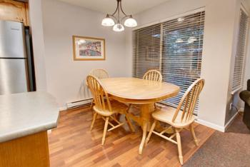 Dining Table to create family memories around- also included: board games!