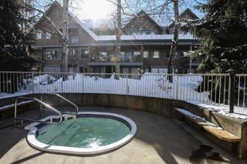 A Great Complex Hot Tub to soak in after a long day on the hill