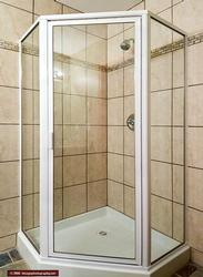 Second bathroom with large shower (downstairs)