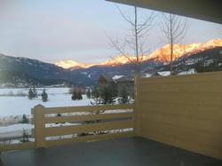 Stunning Lake and Mountain views from the private hot tub and one of your 2 private decks.