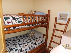 Den with bunkbeds