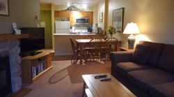 Chat with your fellow guests or watch the TV while preparing meals and beverages.