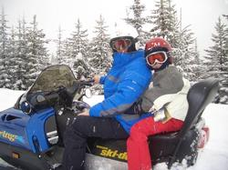 enjoying other activities in Big White