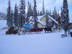 Take a relaxing ride around Big White