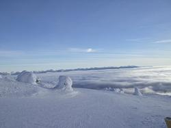 Above the clouds at Big White