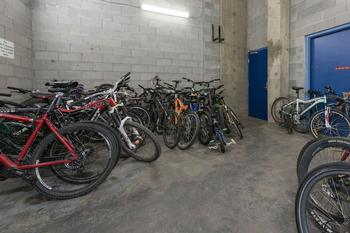 Included Secured Bike Storage